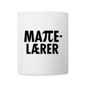 Mattelærer - Kopp