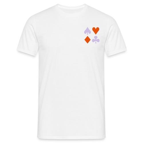 poker - Mannen T-shirt
