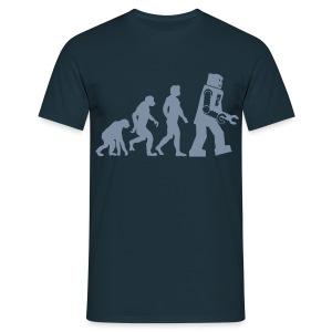 Robot Evolution - Mannen T-shirt
