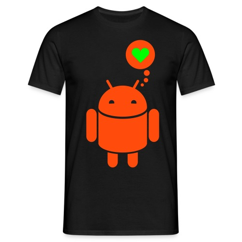 love android - Camiseta hombre