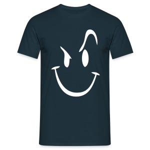 Evil smilie - Mannen T-shirt