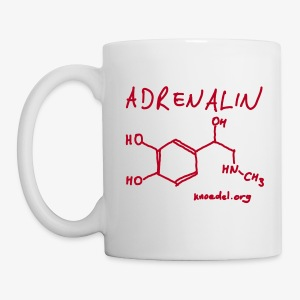 Adrenalin Rot - Tasse