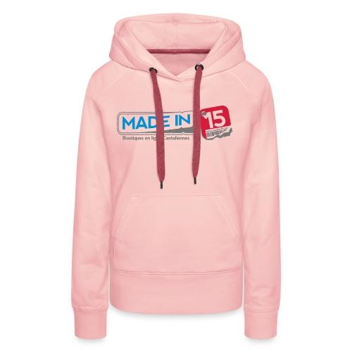 Sweat-shirt Fem. - Sweat-shirt à capuche Premium pour femmes
