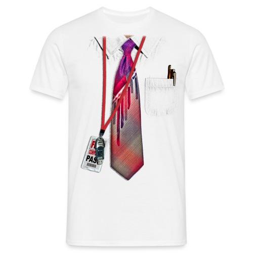 Shirt and Tie T-Shirt - Men's T-Shirt