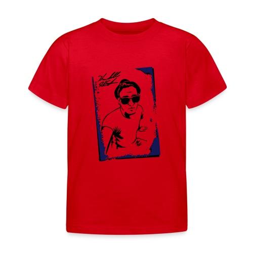 PORTRAIT W SIG - Kids' T-Shirt