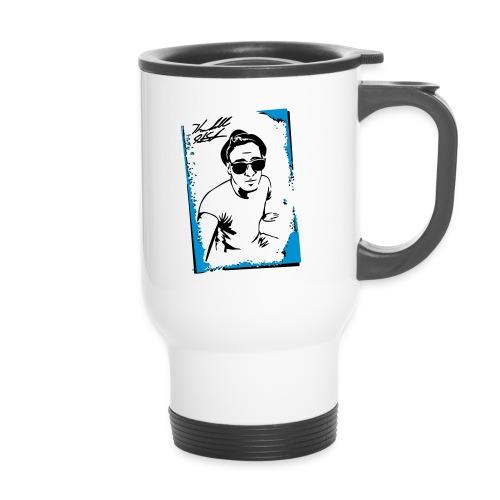 PORTRAIT W SIG - Travel Mug