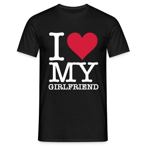 i love ... tshirt - Mannen T-shirt