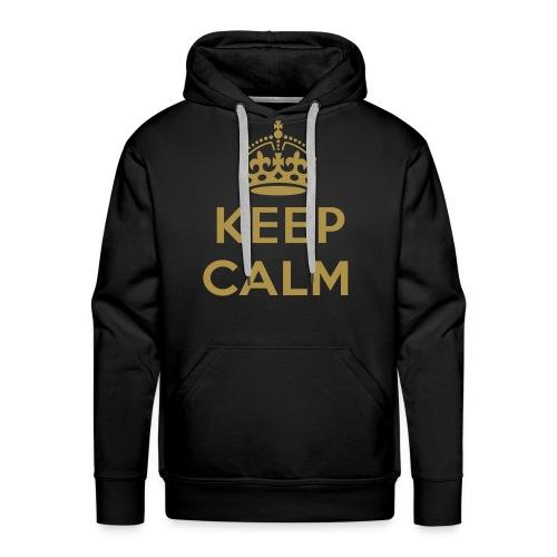 Keep calm hoodie. - Mannen Premium hoodie
