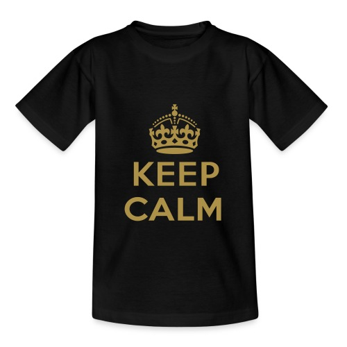 Keep calm tshirt. - Kinderen T-shirt