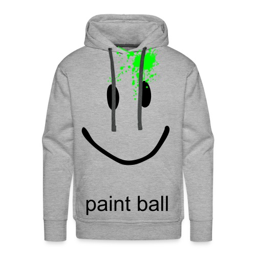 paint ball - Premium hettegenser for menn