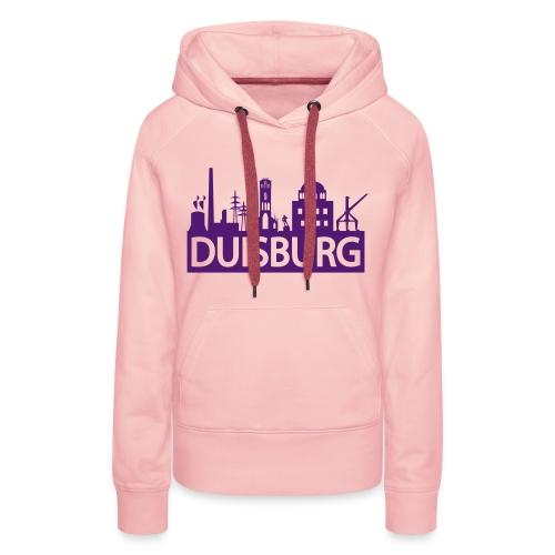 Skyline Dusiburg - Frauen Kapuzenpullover - Frauen Premium Hoodie