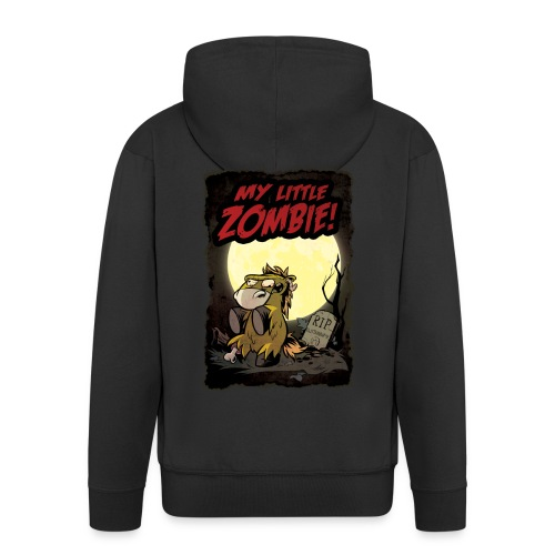 My little Zombie- Kapuzenjacke Männer - Männer Premium Kapuzenjacke