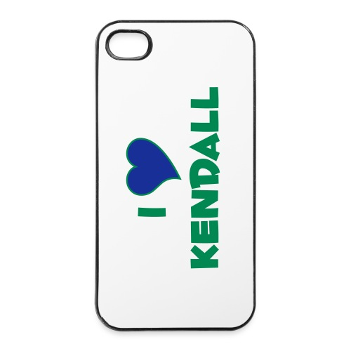 I LOVE KENDALL - iPhone 4/4s Hard Case