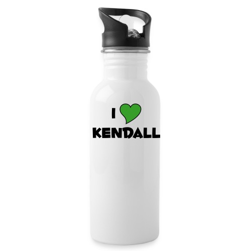 I LOVE KENDALL - Water Bottle
