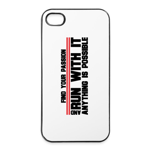 RUN WITH IT - iPhone 4/4s Hard Case