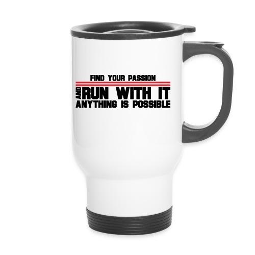 RUN WITH IT - Travel Mug