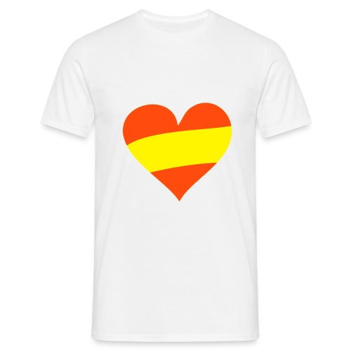 Corazón Español - Camiseta hombre
