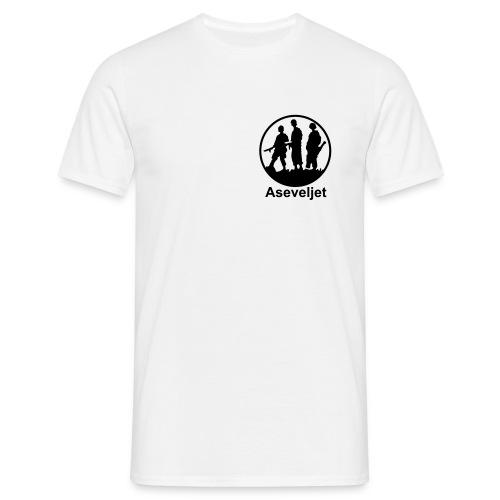 Aseveljet peruspaita - tumma logo - Miesten t-paita