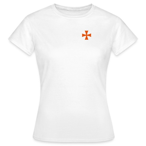 Camiseta con cruz - Camiseta mujer