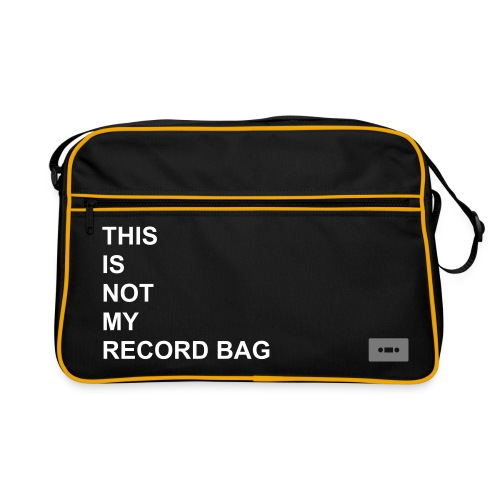 THIS IS NOT MY RECORD BAG - Retro Bag