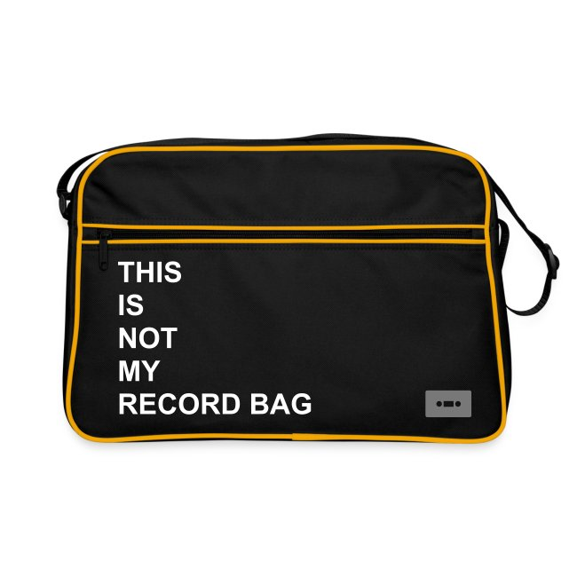 THIS IS NOT MY RECORD BAG