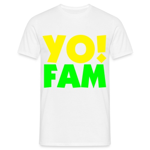 Yo ! Fam - Men's T-Shirt
