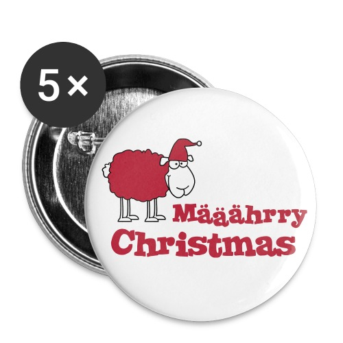 Määährry Christmas - Buttons groß 56 mm