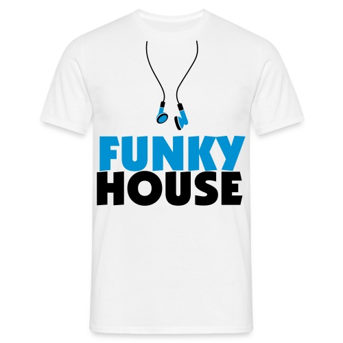 Funky House - Men's T-Shirt