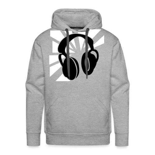 Warm Music - Mannen Premium hoodie