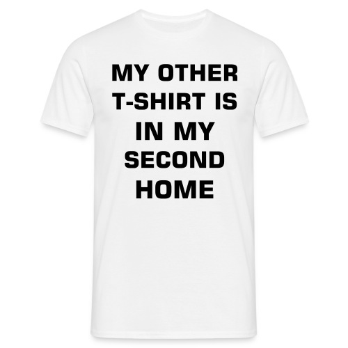 Second Home - Men's T-Shirt