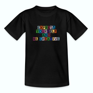 Express yourself - Kinder T-Shirt