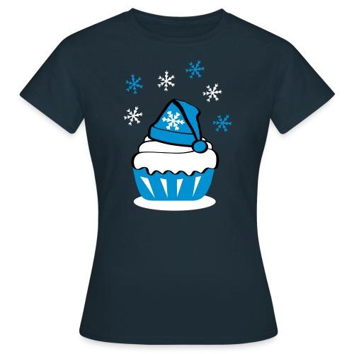 Schneecupcake - Frauen T-Shirt