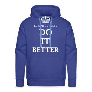 Luxembourgers do it better - Men's Premium Hoodie