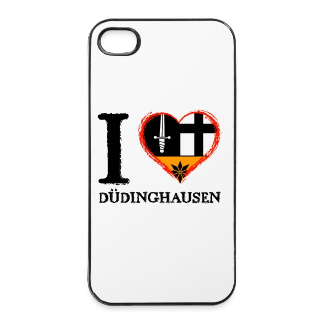iPhone 4/S4 Case - I love