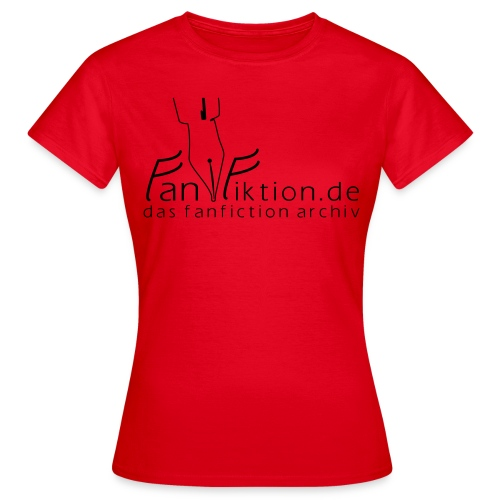Motiv: Fanfiktion.de | Druck: schwarz | verschiedene Farben - Frauen T-Shirt