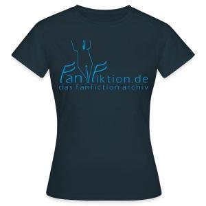 Motiv: Fanfiktion.de | Druck: hellblau | verschiedene Farben - Frauen T-Shirt