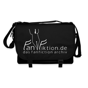 Motiv: Fanfiktion.de | Druck: weiß | verschiedene Farben - Umhängetasche