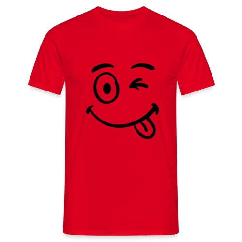 Smiley (Man T-shirt) - Mannen T-shirt