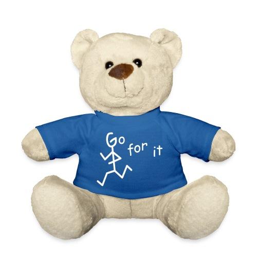 Strichmännchen - Go for it - Teddy