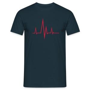 T-Shirt   Frequency - Mannen T-shirt