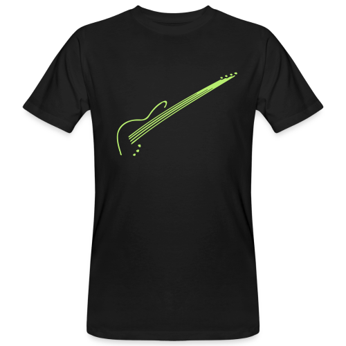 The Bass-Player - Männer Bio-T-Shirt