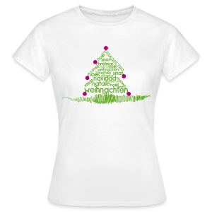 (merry) xmas - Frauen T-Shirt