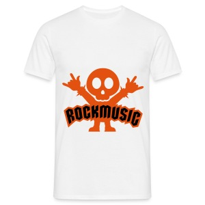 Rock Music T-shirt - Men's T-Shirt