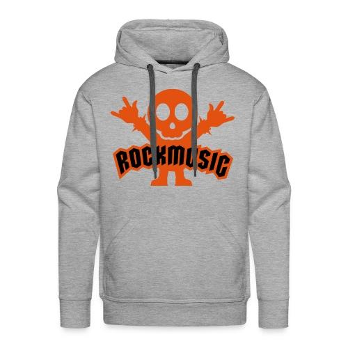 Rock Music Hoodie - Men's Premium Hoodie