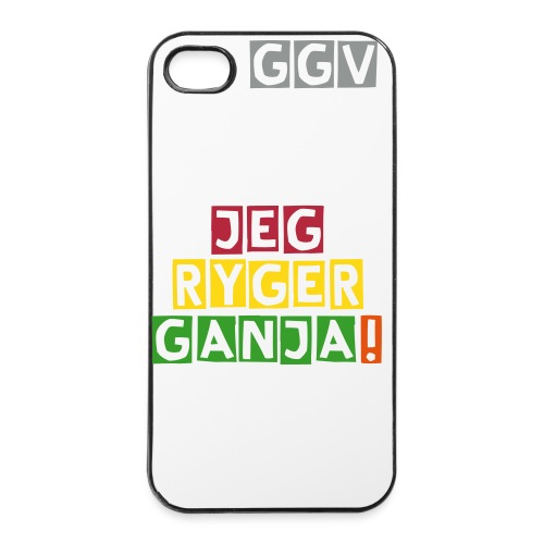 Jeg Ryger Ganja! iPhone 4/4S Cover - iPhone 4/4s Hard Case