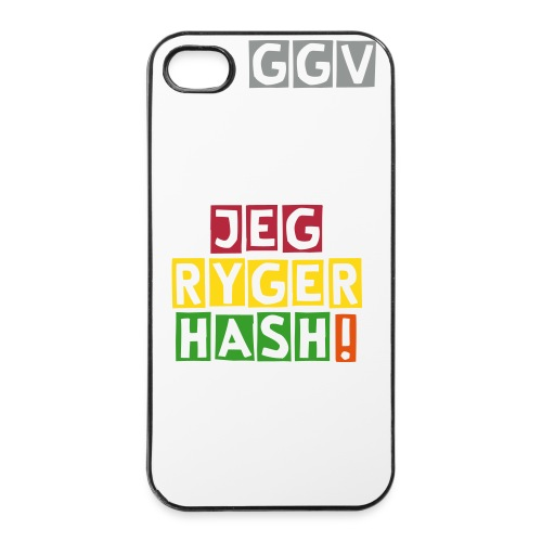Jeg Ryger Hash! iPhone 4/4S Cover - iPhone 4/4s Hard Case