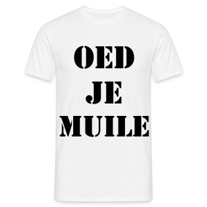 OED JE MUILE - Mannen T-shirt