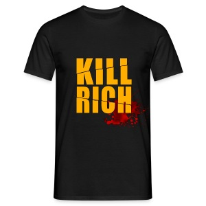KILL RICH BLACK SMALL - Camiseta hombre