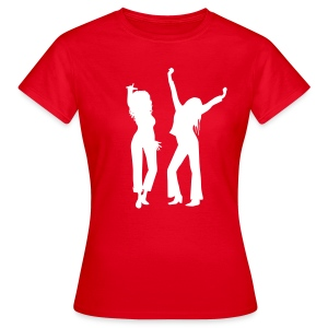 Red / White Logo - Women's T-Shirt