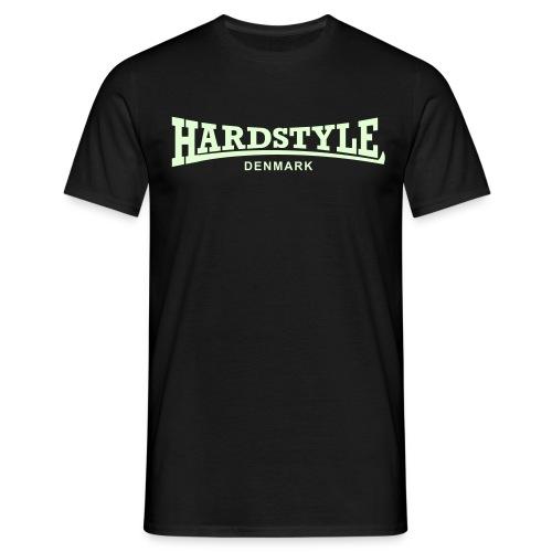 Hardstyle Denmark - Glow in the dark - Men's T-Shirt